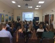 Kauno rajono savivaldybės viešojoje bibliotekoje gimnazistams paskaita apie savanorystę ir savanorišką veiklą1