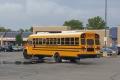 Geltonas mokyklos autobusas