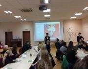 Viešojoje bibliotekoje kūrybinio rašymo seminaras su rašytoja S. Bernotaite1