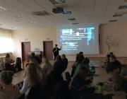 Viešojoje bibliotekoje kūrybinio rašymo seminaras su rašytoja S. Bernotaite2