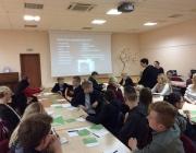 Viešojoje bibliotekoje kūrybinio rašymo seminaras su rašytoja S. Bernotaite6