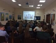 Kauno rajono savivaldybės viešojoje bibliotekoje gimnazistams paskaita apie savanorystę ir savanorišką veiklą