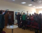 Kauno rajono savivaldybės viešojoje bibliotekoje gimnazistams paskaita apie savanorystę ir savanorišką veiklą2