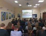 Kauno rajono savivaldybės viešojoje bibliotekoje gimnazistams paskaita apie savanorystę ir savanorišką veiklą3