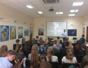 Kauno rajono savivaldybės viešojoje bibliotekoje gimnazistams paskaita apie savanorystę ir savanorišką veiklą5