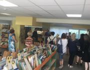 Viešojoje bibliotekoje svečiavosi MRU bibliotekos atstovai1